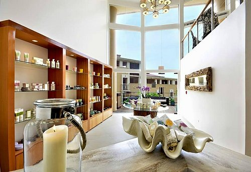 Boutique and Welcome Center offering only the Finest Skincare, Candles, and Gifts.