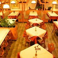 Pizzeria Ristorante Dolomiti Selva di Cadore sala da pranzo, Lunchroom