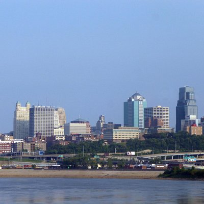 Downtown KC from Kaw Point