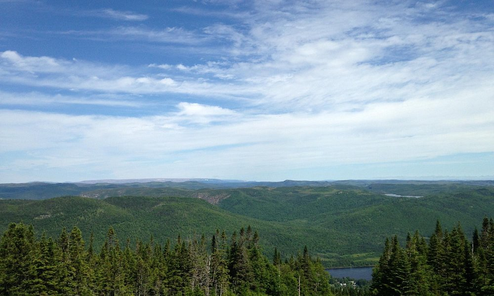 Continue up the Marble Mountain trail for this breathtaking view