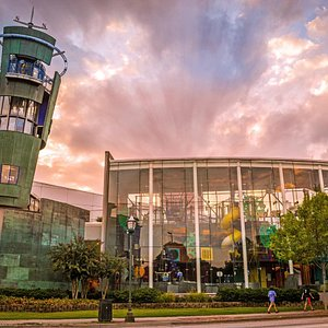 Creative Discovery Museum Sunset