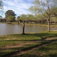 Lago del Parque municipal