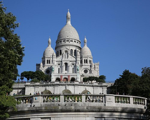 PARIS : Basilique du Sacré Coeur. Objectif atteint !