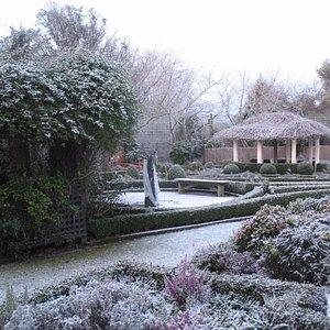 Winter at Rockvale Gardens Oamaru NZ