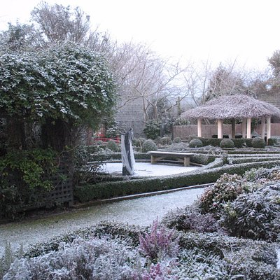 Winter at Rockvale Gardens Oamaru NZ
