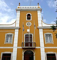 Front of Praia City Hall
