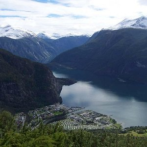 From a saeter above Valldal