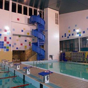 Basen rekreacyjny w Centrum Rekreacji Oborniki