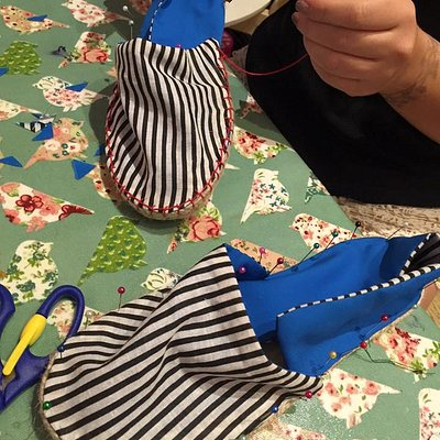 Espadrille classes are one of our most popular options!
