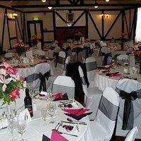 Braganza room ready for a wedding