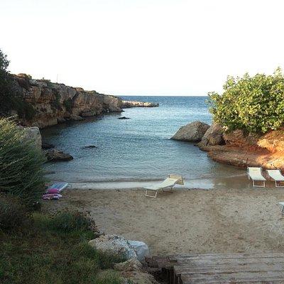 Una meravigliosa e intima spiaggia