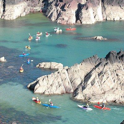 Kayaking Coastal Explorer Wales #tyfadventure