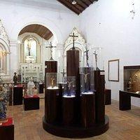 Algumas obras do museu