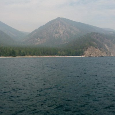 Западный берег Байкала