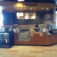 Kiosk inside Nebraska Furniture Mart