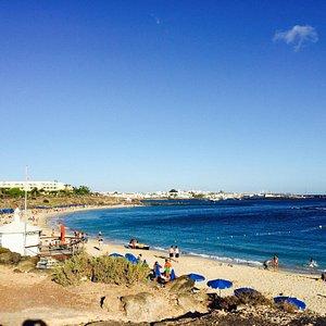 Muy buena y tranquila playa