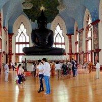 huge Jade Buddha
