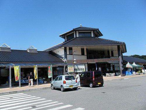 道の駅ゆとりパーク田万川の建物