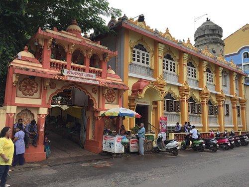 The Mahalaxmi Temple & the Goddess is nearer to Miramar beach