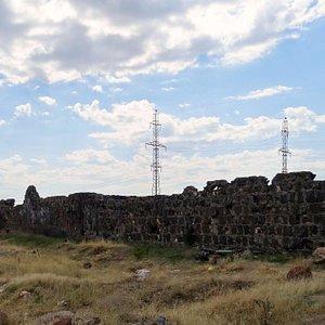Ruins of Caravanserai in Talin, Armenia