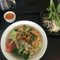 Pho Chay (Vegetarian Rice Noodle Soup)