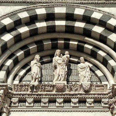 Lunetta del Portale Maggiore