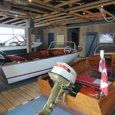 Thousand islands Boat Museum