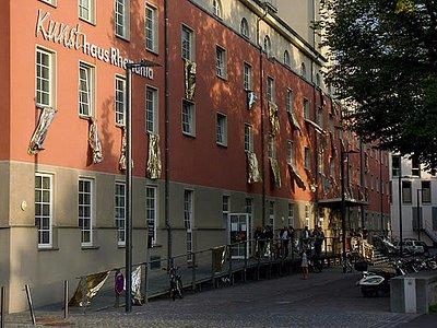 Kunsthaus  RHENANIA Eingang Rheinuferstraße Köln