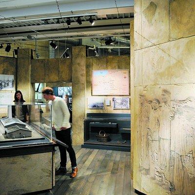 A sneak peek into the Zev and Shifra Karkomi Permanent Exhibition