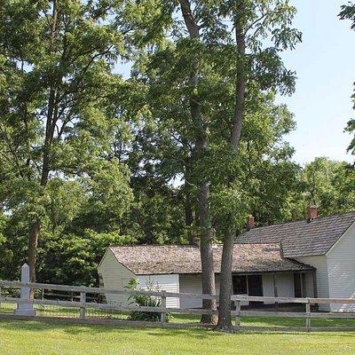 The Jesse James farmhouse, Kearney, Missouri