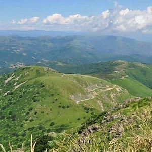 Cima Monte Dente, Alta Via dei Monti Liguri