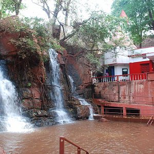 The Waterfall associated with the Shrine