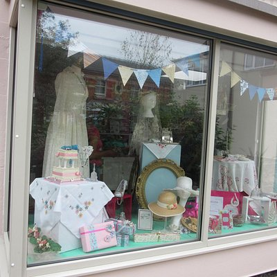 Our new window display