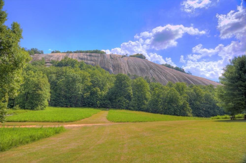 The Famous Stone Mountain