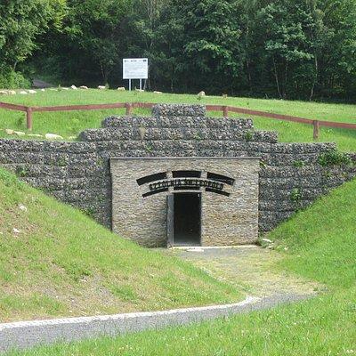 Entrance to underground tour