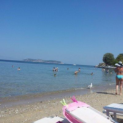 Limenas beach