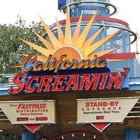 Entrance to California Screamin'