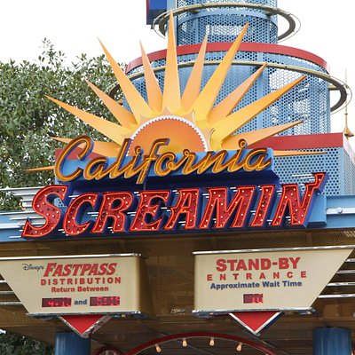 Entrance to California Screamin'