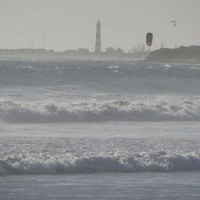 Surf's up at Tarcoola Beach 1