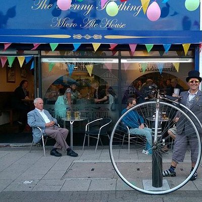 A Penny farthing visit