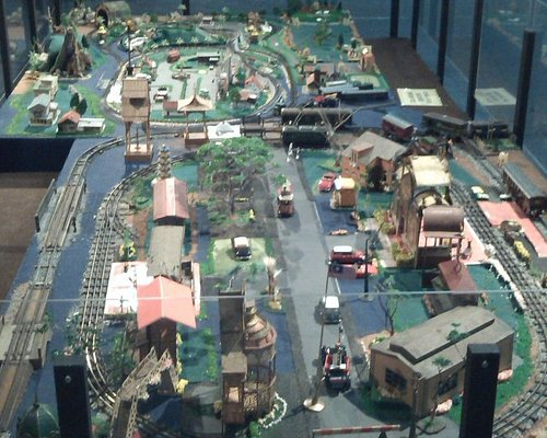 Railway System Recreated with toys