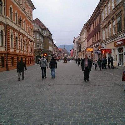 Rua do centro histrórico