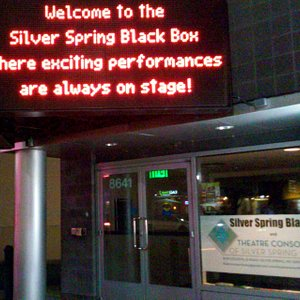 The Forum Theater has been renamed Silver Spring Black Box Theatre.