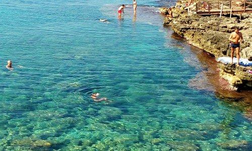 Zona Nord Parco Litorale di Ugento PISCINE NATURALI per chi ama il mare e la tranquillità anche