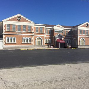 The antique mall was originally a train station.