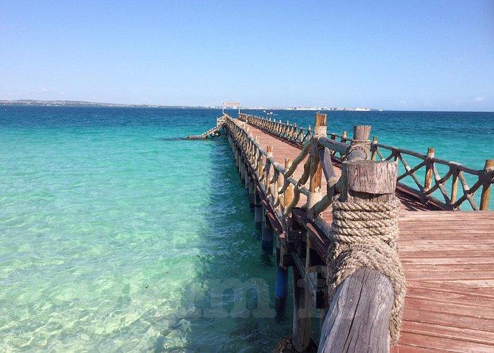 The Prison Island Pier