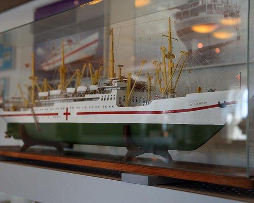 Blot et af de mange modeller som museet fremviser