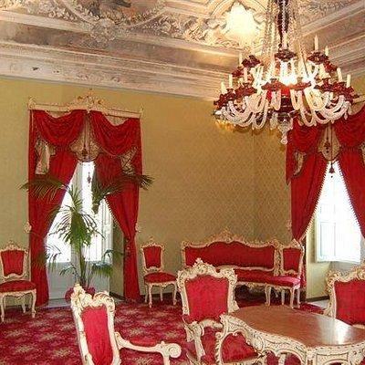 uno degli interni di Palazzo Zito