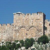 Porta Dourada,Jerusalém,Israel.