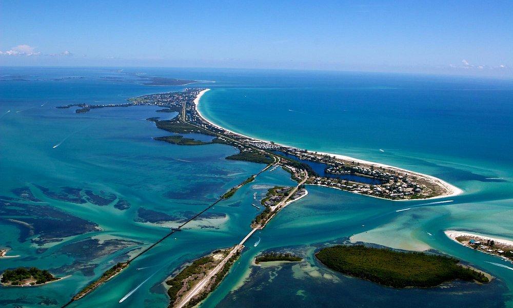 Bridge going into Boca Grande Florida...